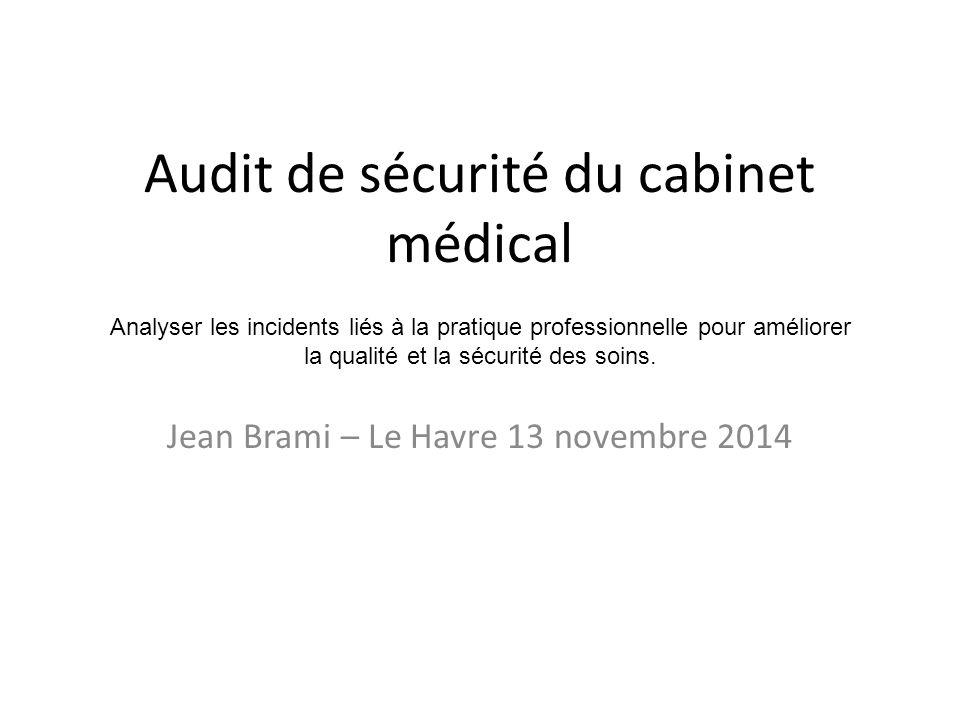 Audit de s curit du cabinet m dical ppt t l charger - Cabinet medical le havre ...