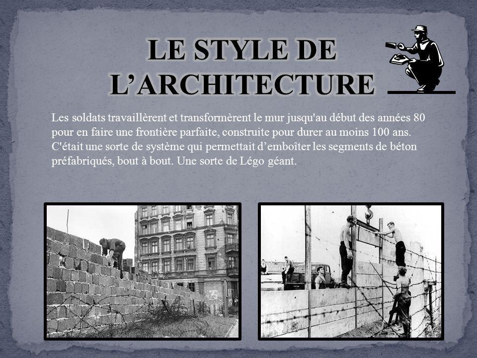 Le mur de berlin ppt t l charger - Architecture des annees 80 ...