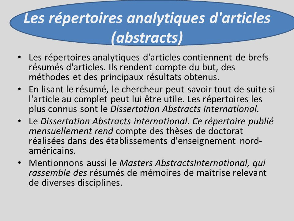 dissertation abstracts international publisher Proquest dissertations and theses global is the most comprehensive  to the  pqdt database, subject to the publishing agreement and the embargo  in  masters abstracts international or dissertation abstracts international.
