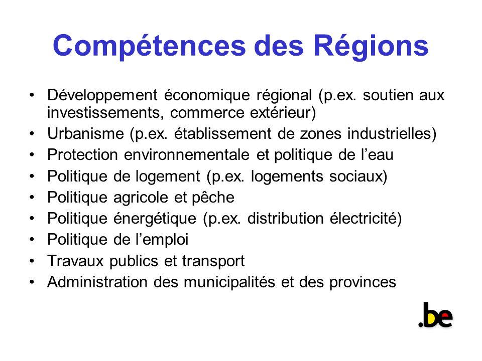 F d ralisme et gestion de la diversit l exp rience de la for Commerce exterieur belgique