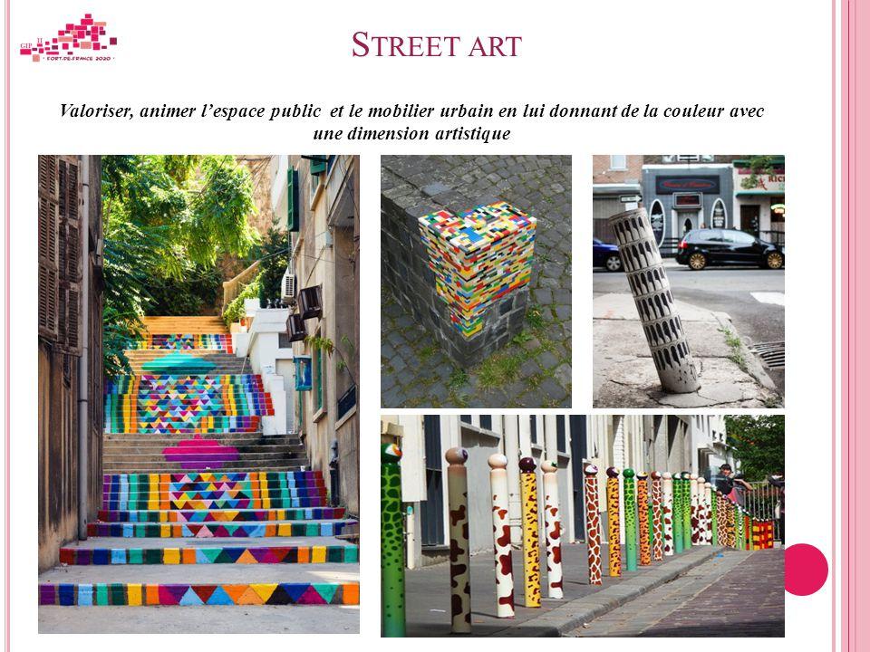 Arts et urbanit action culturelle de d veloppement for Mobilier urbain espace public