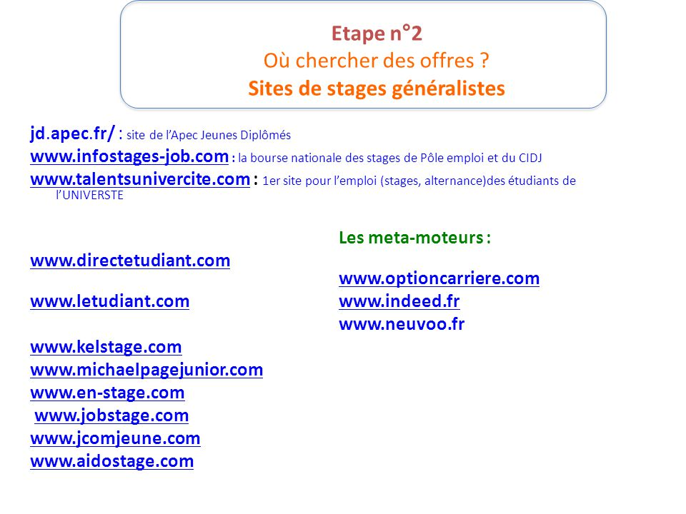 objectif stage licence sciences de l u2019education