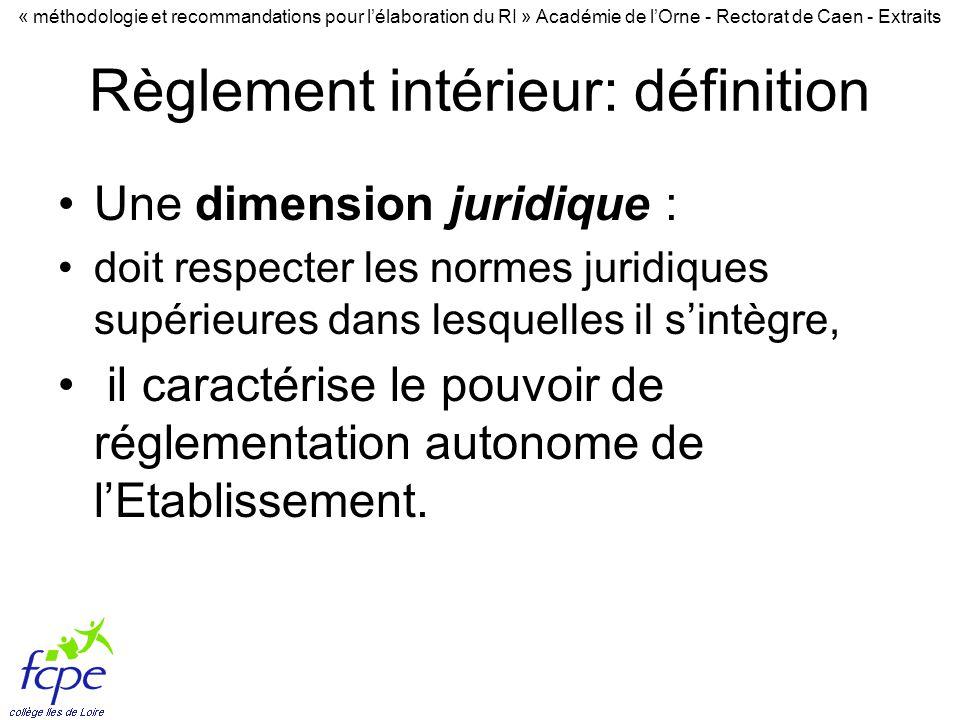 r glement interieur extraits de ppt t l charger On definition du reglement interieur
