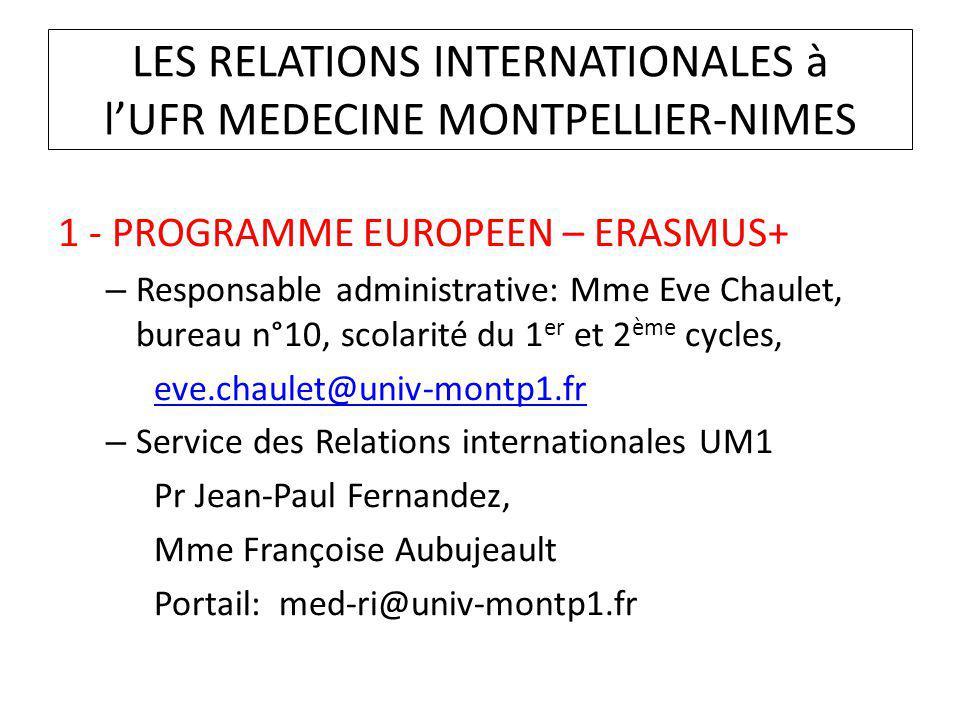 Dipl me de formation g n rale en sciences m dicales ppt video online t l charger - Bureau des relations internationales ...