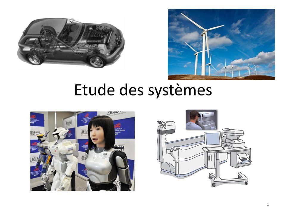Etude des systèmes