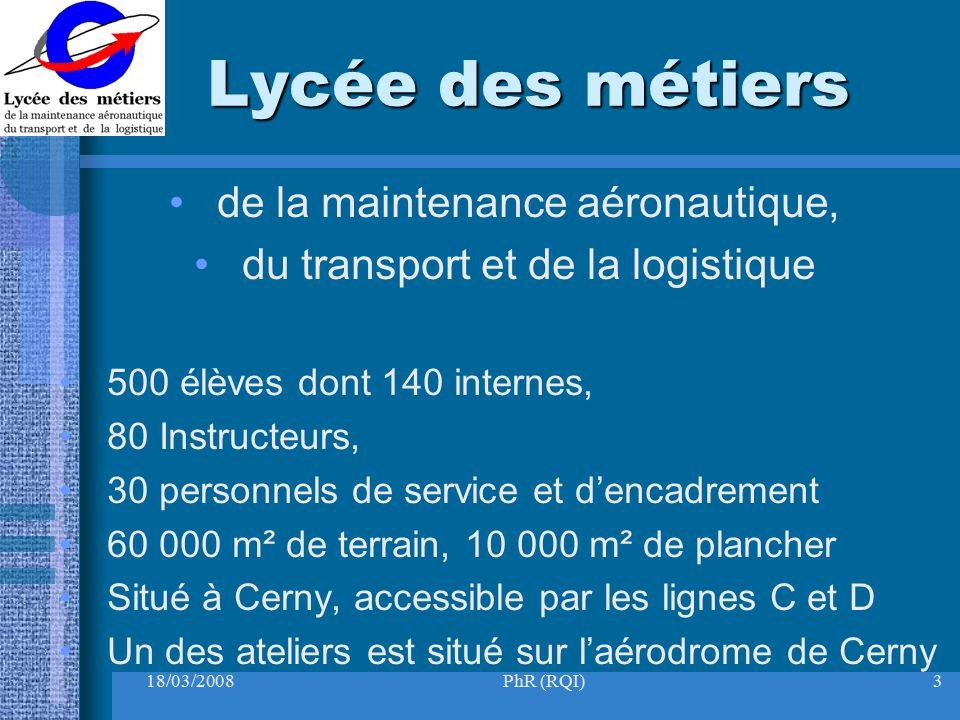 Lycée des métiers de la maintenance aéronautique,