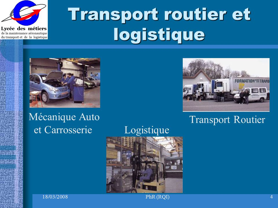 Transport routier et logistique