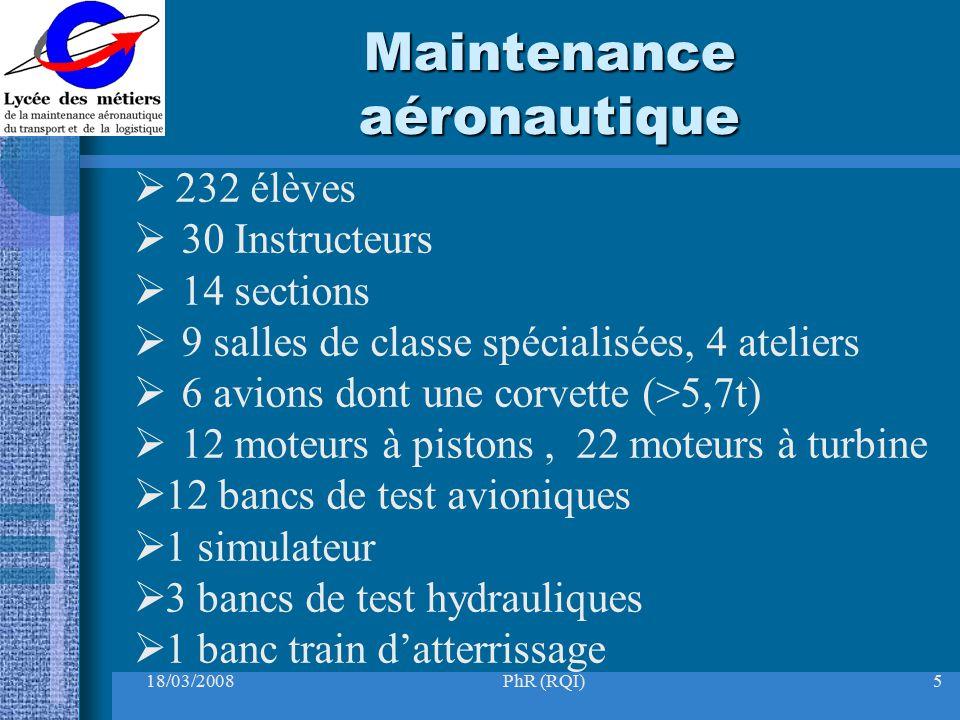 Maintenance aéronautique
