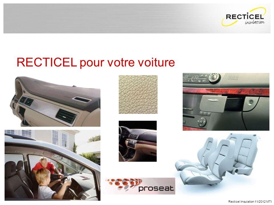 gallery of recticel pour votre voiture with recticel eurosol. Black Bedroom Furniture Sets. Home Design Ideas