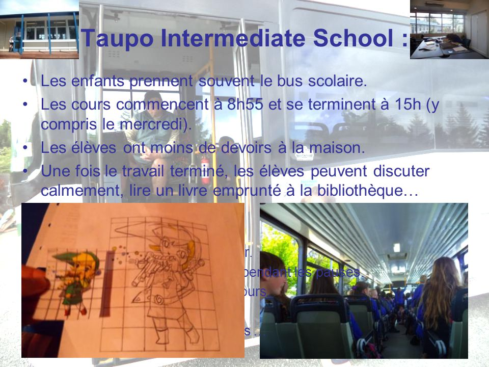 Taupo Intermediate School :