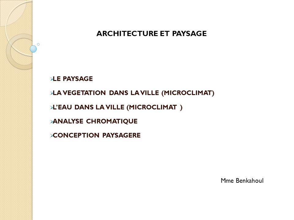 architecture et paysage ppt t l charger. Black Bedroom Furniture Sets. Home Design Ideas