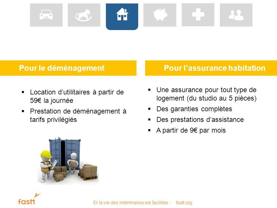 Des aides et services pour les int rimaires ppt video - Assurance habitation location meublee ...