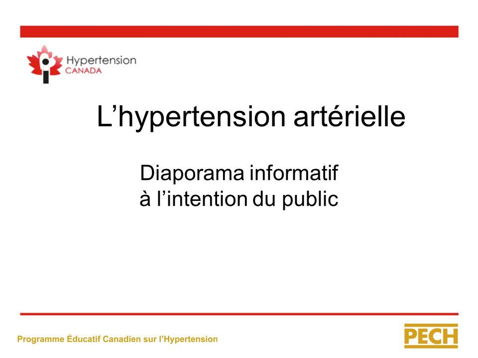 Diaporama informatif à l'intention du public