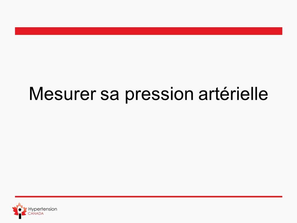 Mesurer sa pression artérielle