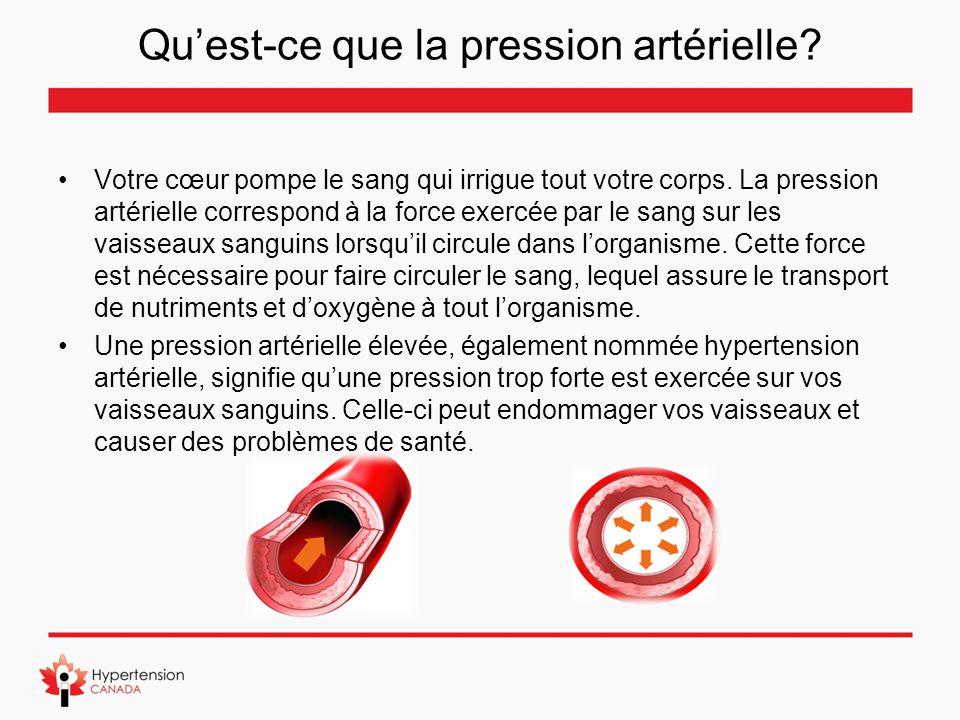 Qu'est-ce que la pression artérielle