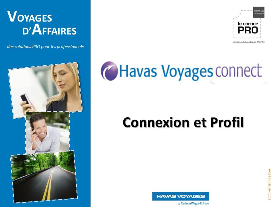 Connexion et Profil