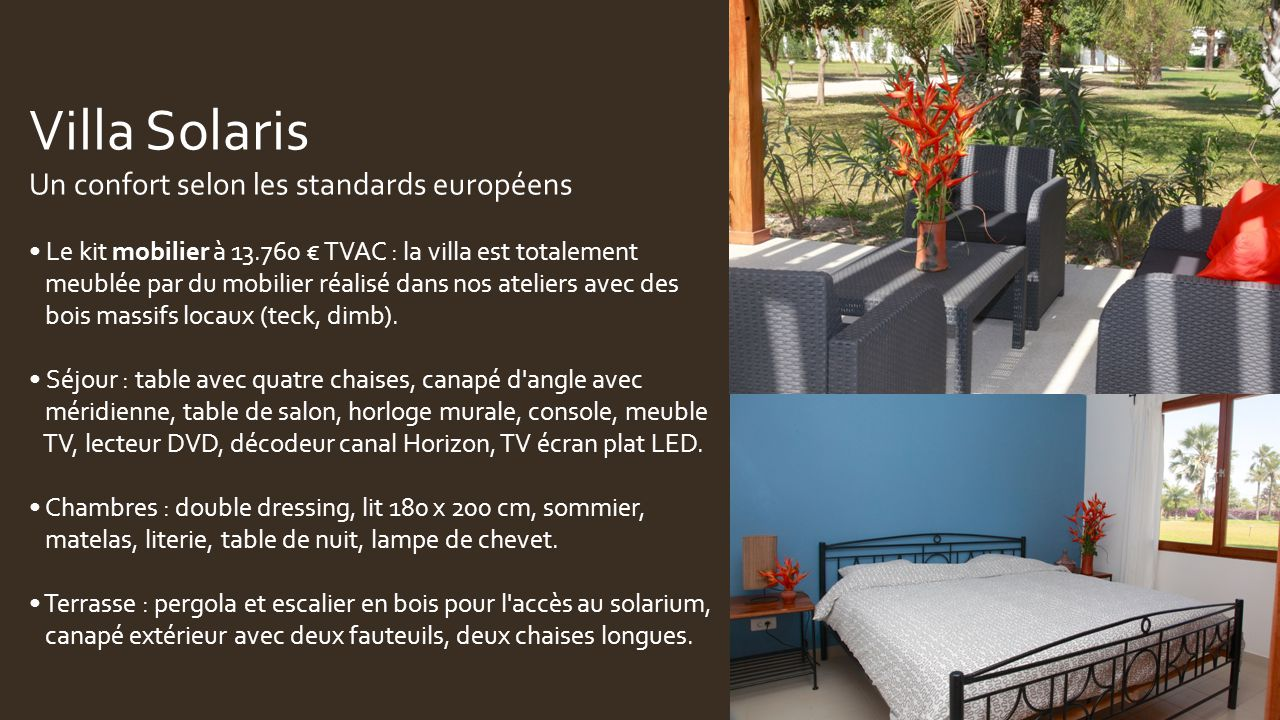 Une Villa De Vacances Cap Skirring S N Gal Un R Ve Accessible  # Meuble D'Angle Pour Sejour