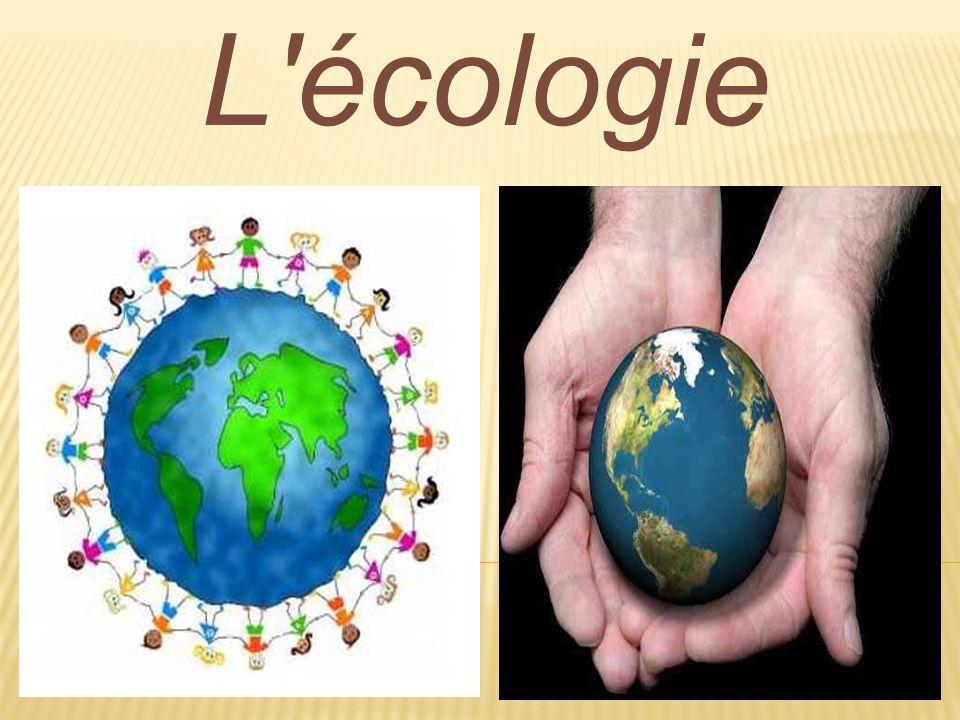 L écologie