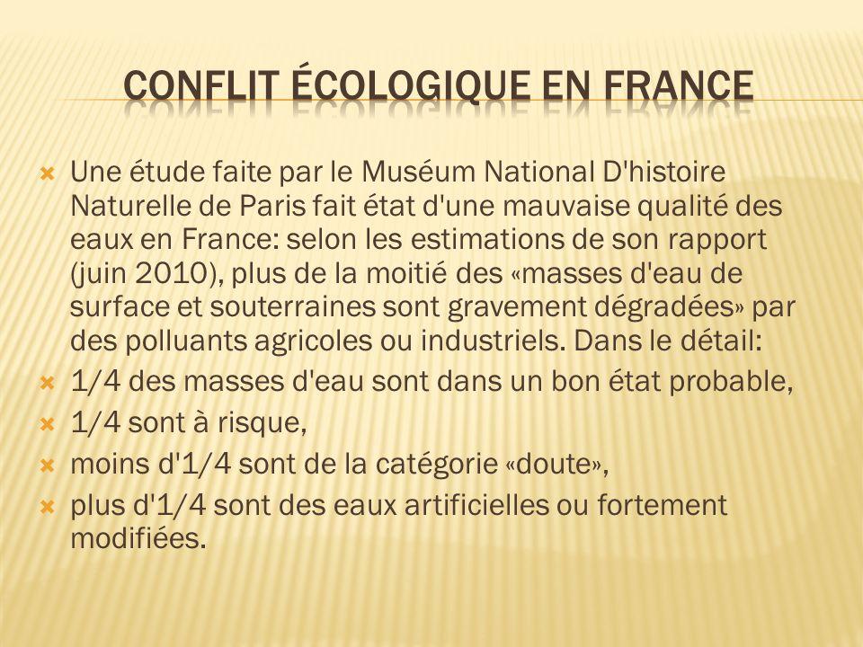 Conflit écologique en France