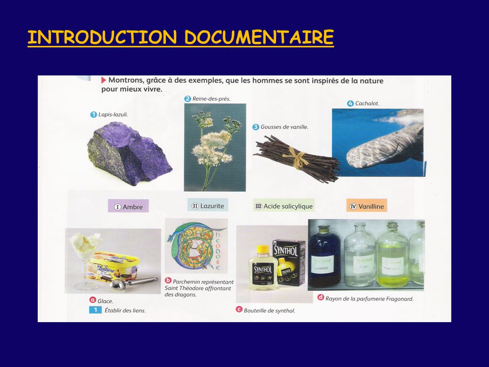 INTRODUCTION DOCUMENTAIRE