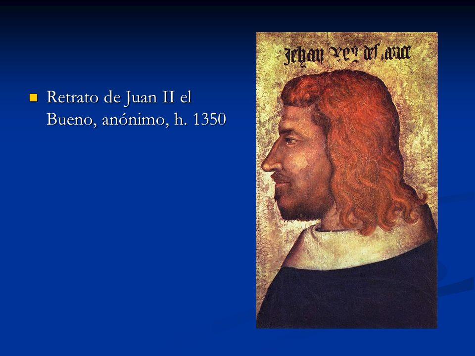 Retrato de Juan II el Bueno, anónimo, h. 1350