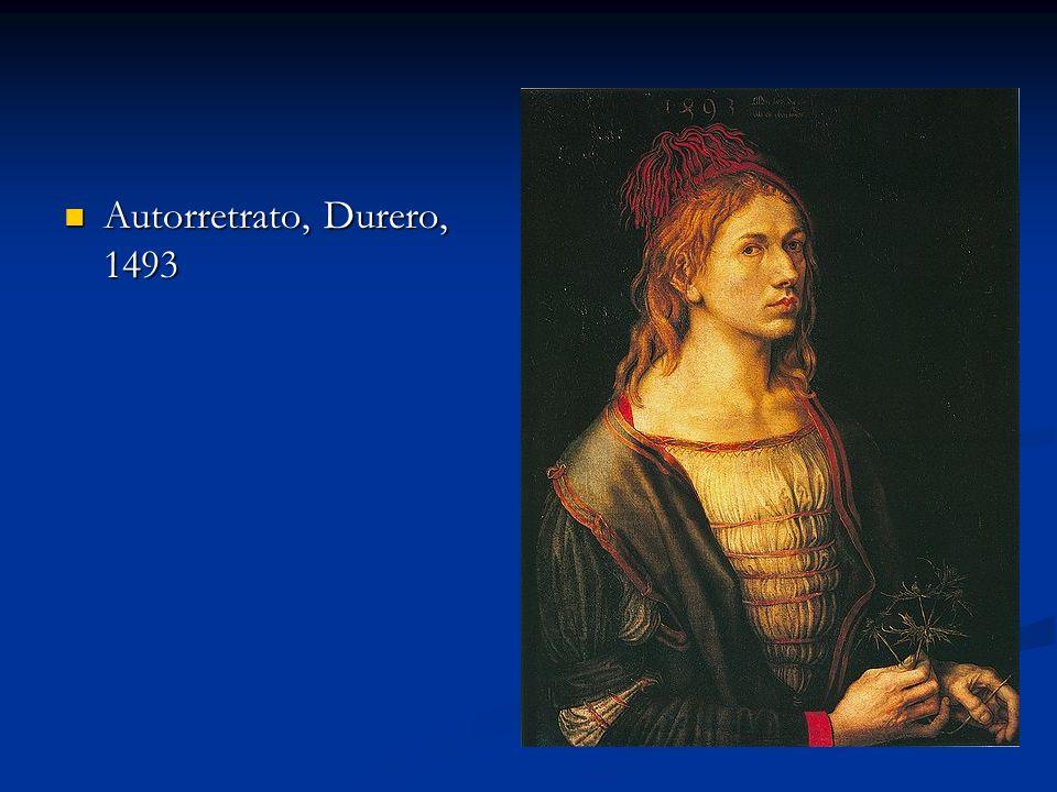 Autorretrato, Durero, 1493