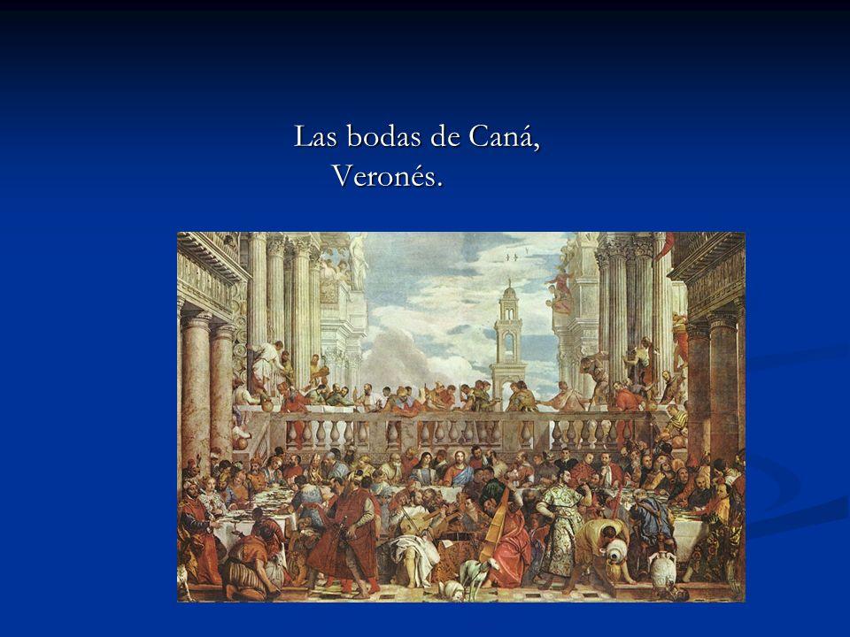 Las bodas de Caná, Veronés.