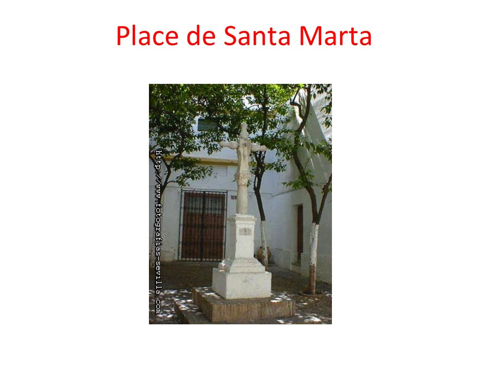 Place de Santa Marta