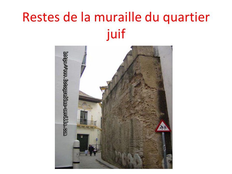 Restes de la muraille du quartier juif