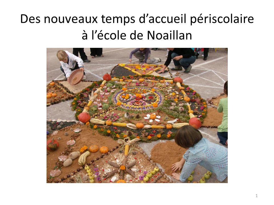 Des nouveaux temps d'accueil périscolaire à l'école de Noaillan