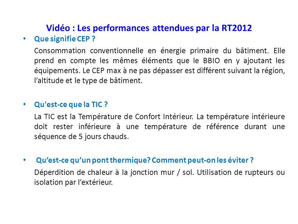 La consommation nerg tique des b timents ppt video online t l charger - Qu est ce qu un pont thermique ...