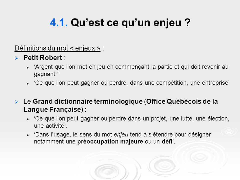 Management de la qualit ppt t l charger - Dictionnaire de l office de la langue francaise ...