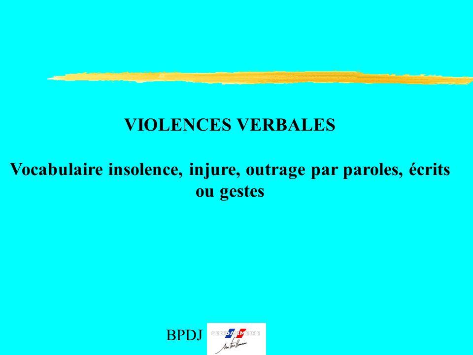Droits et devoirs b p d j 971 bpdj ppt video online - Coups et blessures volontaires code penal ...