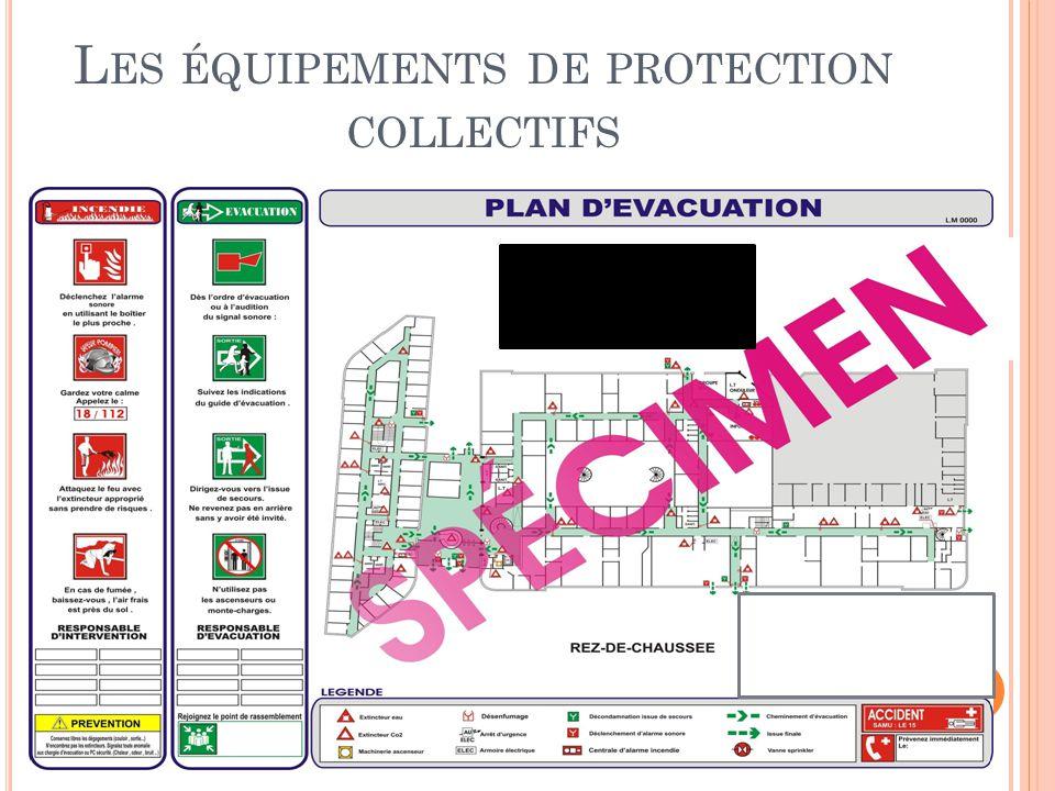 Les équipements de protection collectifs
