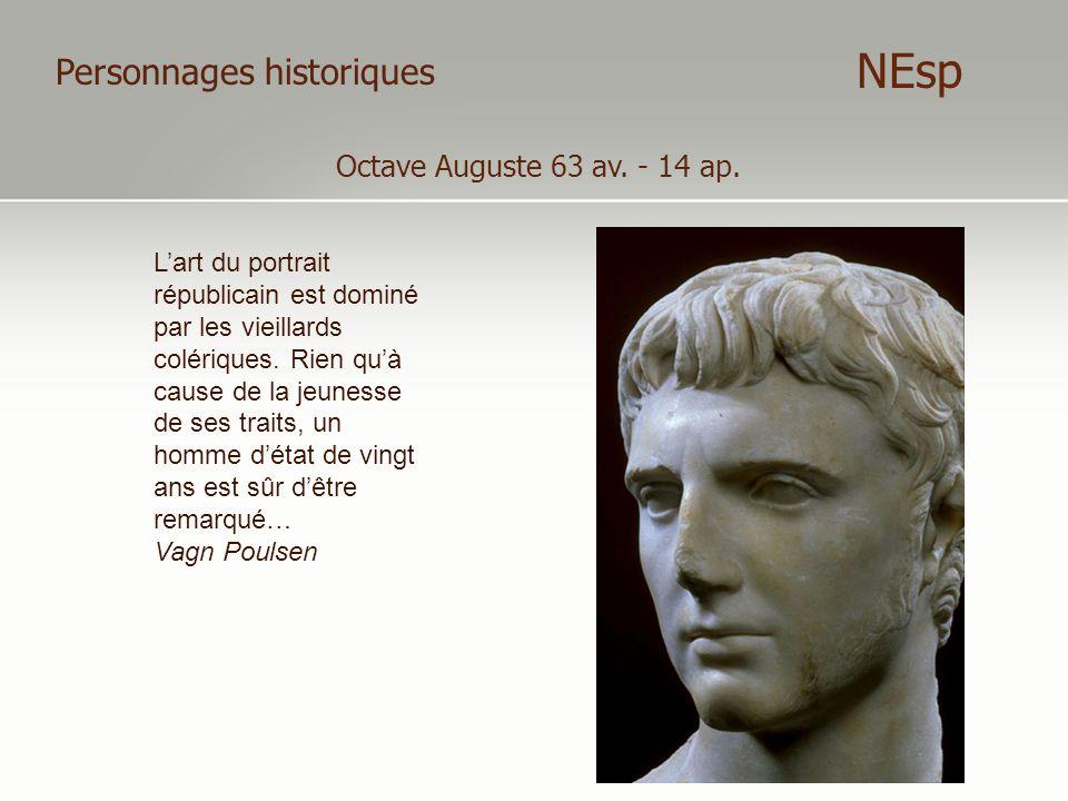 NEsp Personnages historiques Octave Auguste 63 av. - 14 ap.