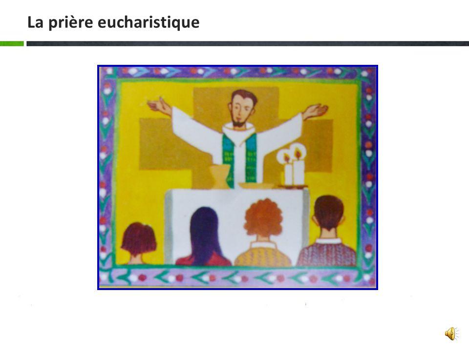 La prière eucharistique