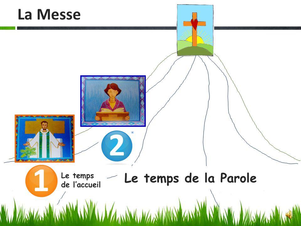 La Messe Le temps de l'accueil Le temps de la Parole