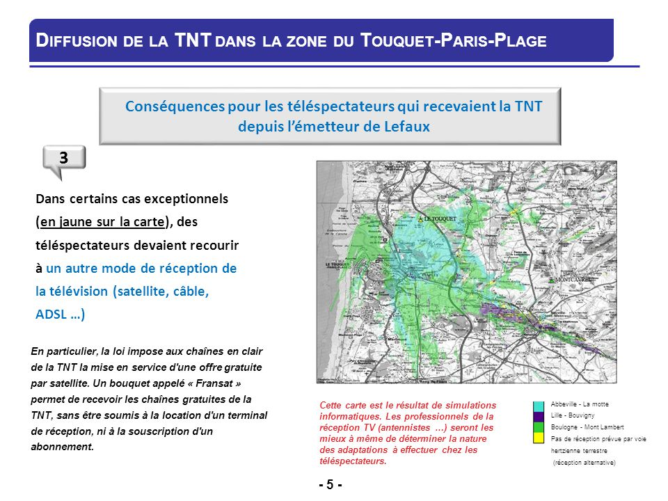 R ception de la t l vision num rique terrestre tnt ppt video online t l charger - Orientation antenne rateau ...