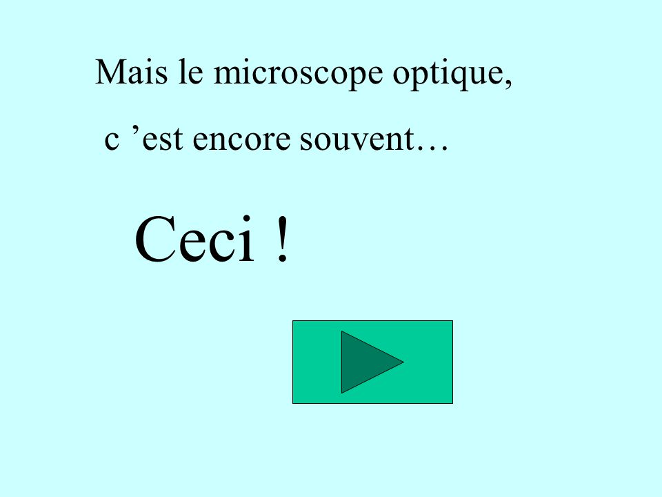 Mais le microscope optique,