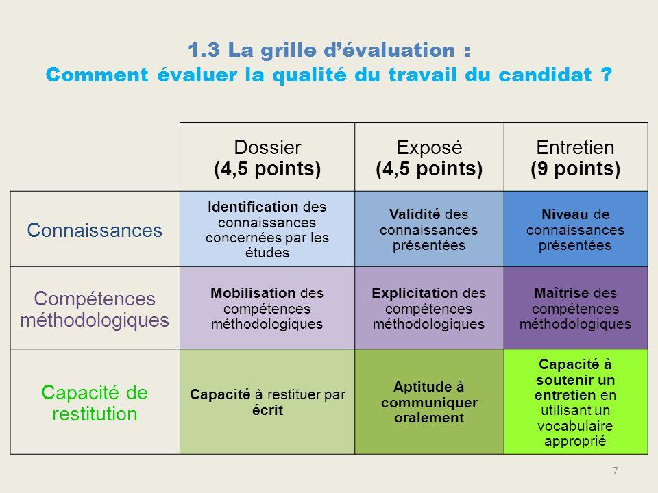 Pr paration de l preuve d conomie droit des - Grille d evaluation des competences infirmieres ...