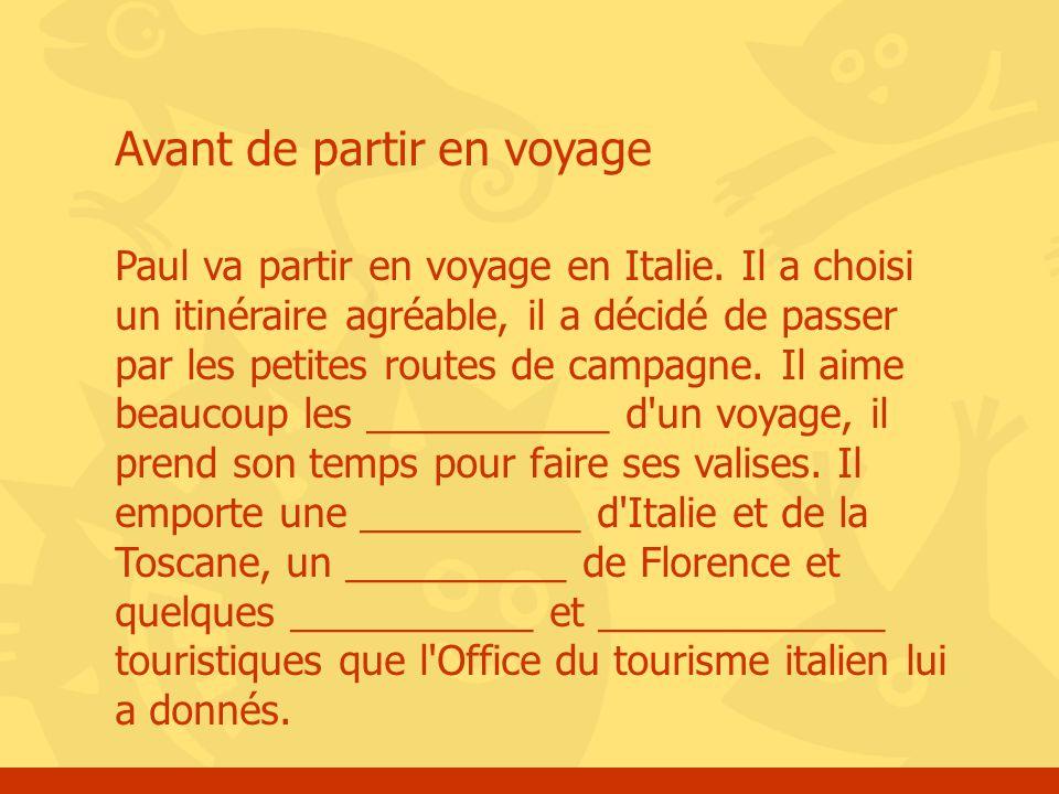 Le vocabulaire du voyage ppt t l charger - Brunico italie office du tourisme ...