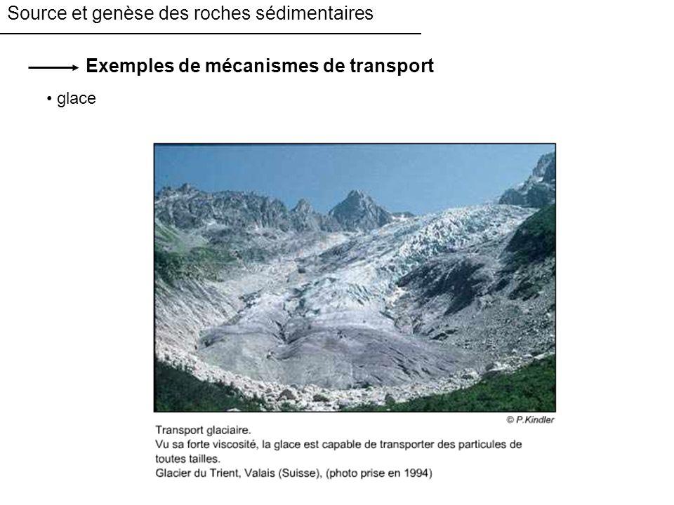Source et genèse des roches sédimentaires