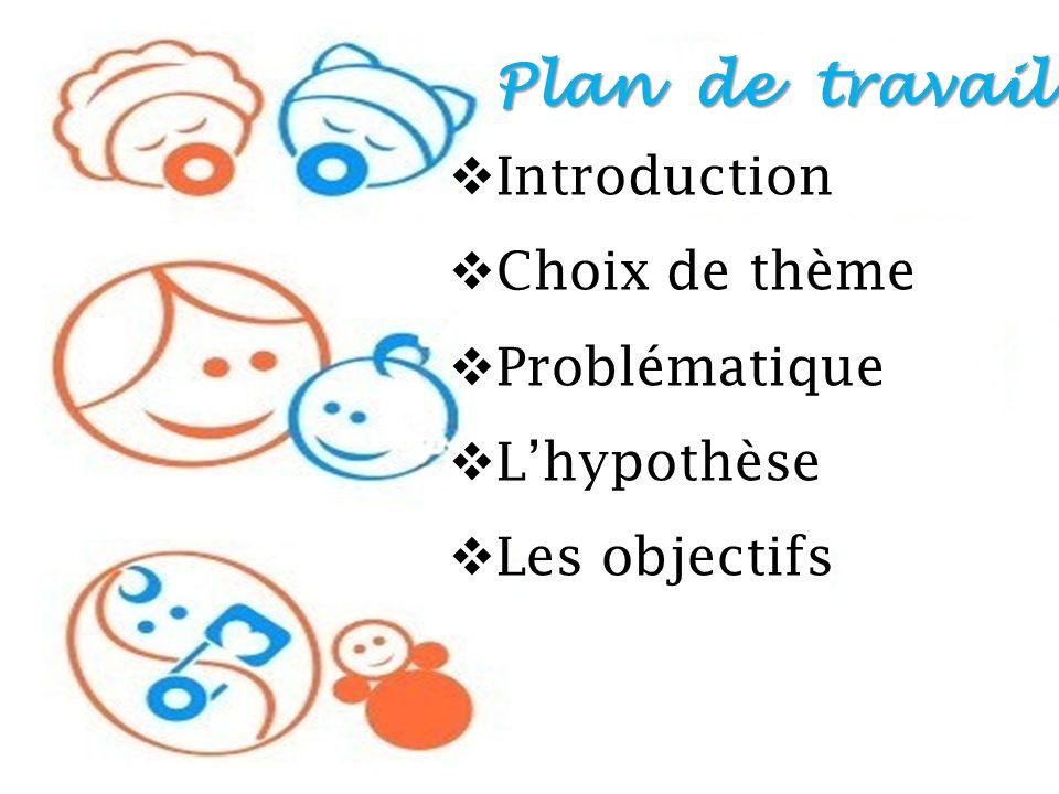 Choix Plan De Travail : Presenter par sous la direction de ppt télécharger