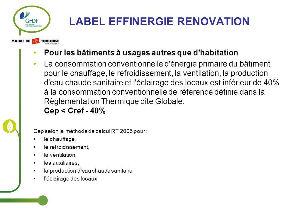 Rencontres effinergie consacrees a la renovation energetique des batiments