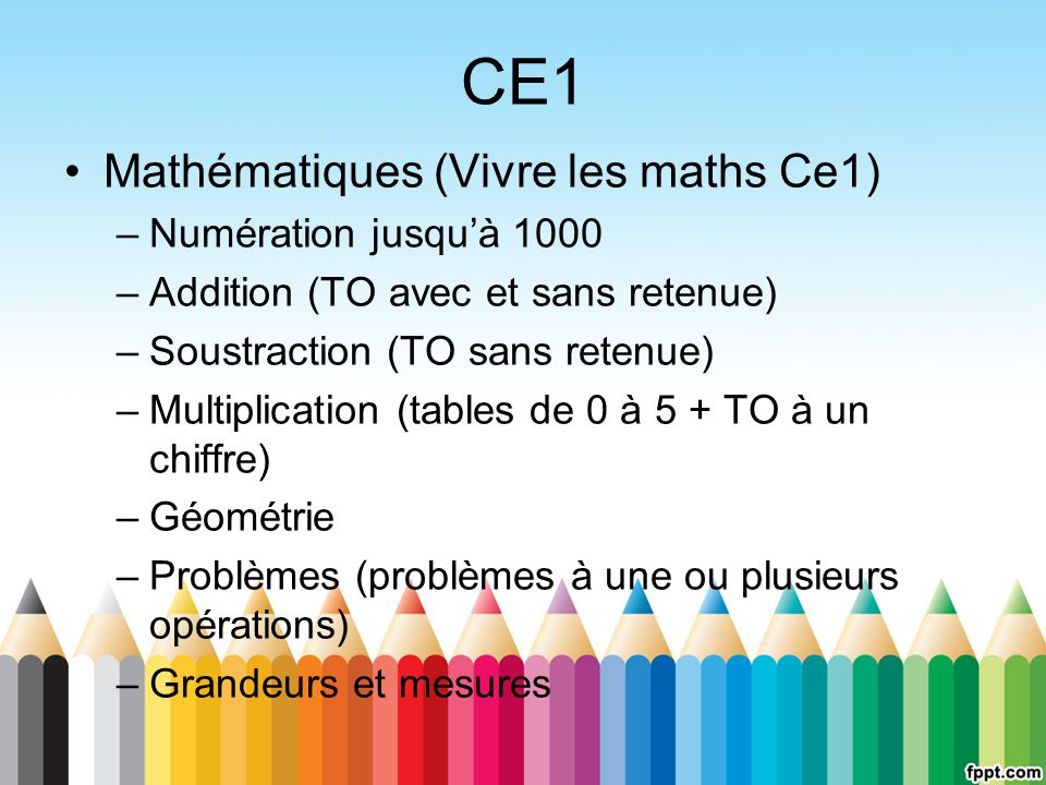CE1 Mathématiques (Vivre les maths Ce1) Numération jusqu'à 1000