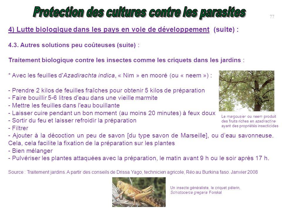 Protection des cultures contre parasites ravageurs et for Ou sortir dans le 78