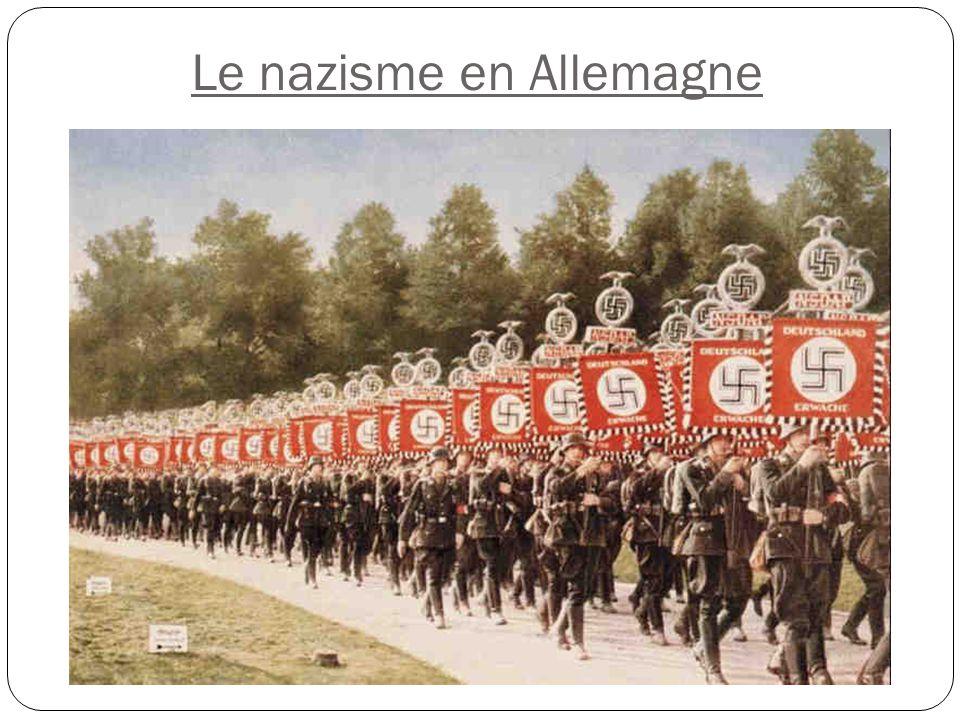 le nazisme en allemagne