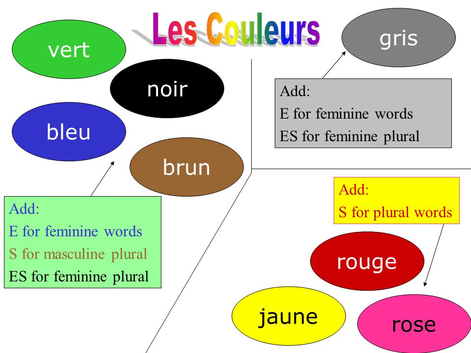 What gender is this word ppt video online t l charger for Couleur bleu vert