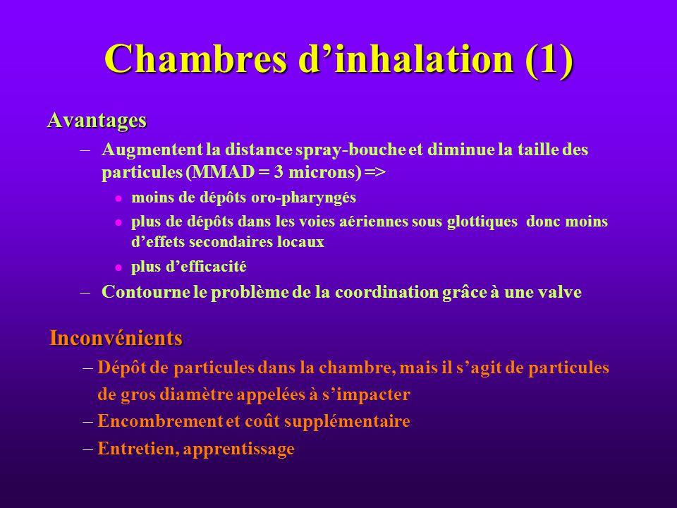 Les medicaments utilis s par inhalation ppt video online for Chambre d inhalation