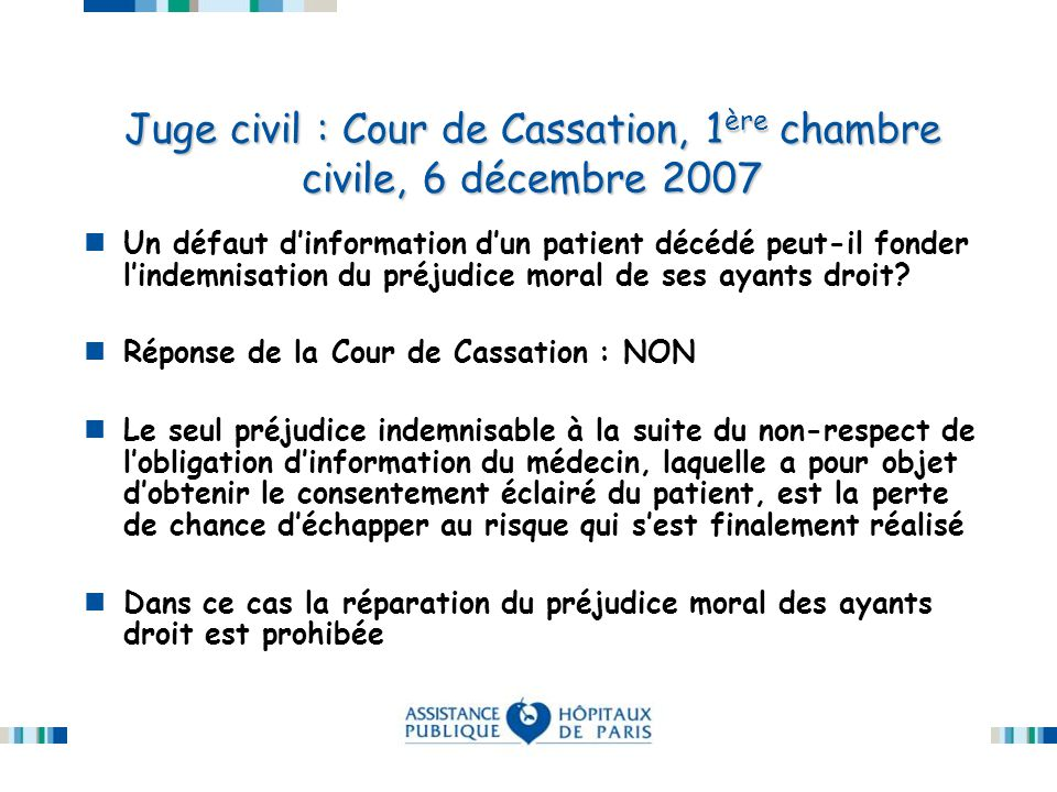 Secret professionnel et responsabilit ppt t l charger for 6 chambres cour de cassation